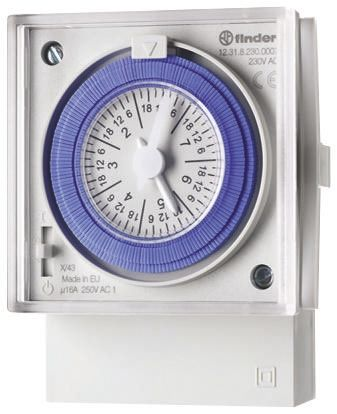 Finder MECHANICAL WEEKLY TIME SWITCH