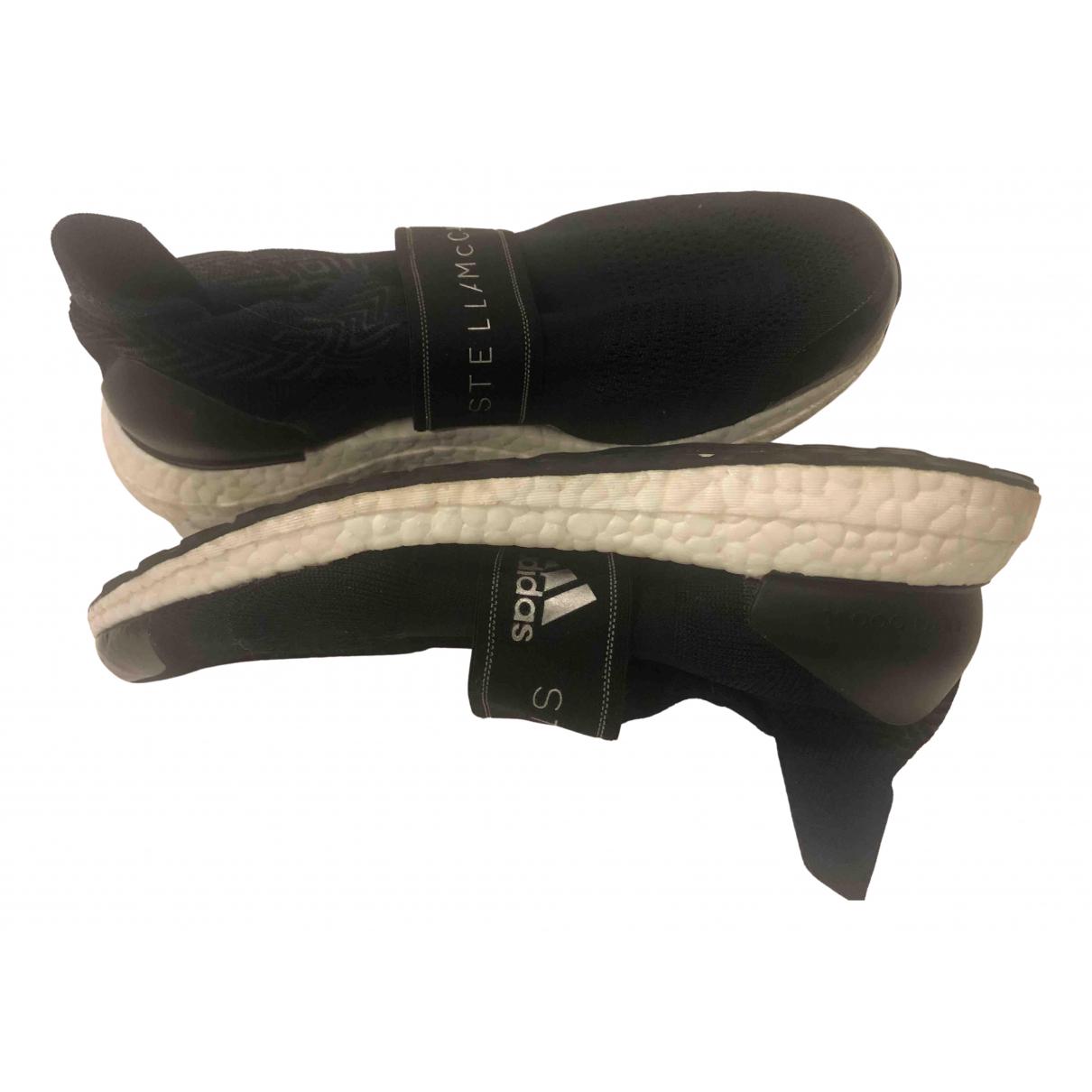 Stella Mccartney Pour Adidas - Baskets   pour femme en toile - noir