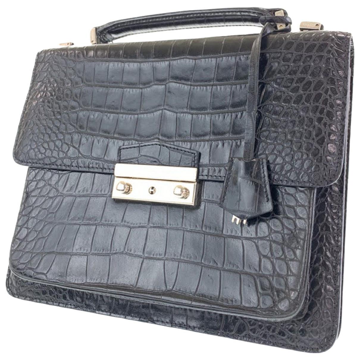 Gianni Versace - Sac a main   pour femme en cuir