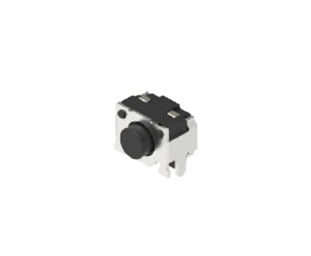 Alps Alpine White Button Tactile Switch, Single Pole Single Throw (SPST) 50 mA 0.84mm Surface Mount (10)