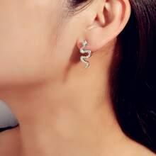 Serpentine Stud Earrings