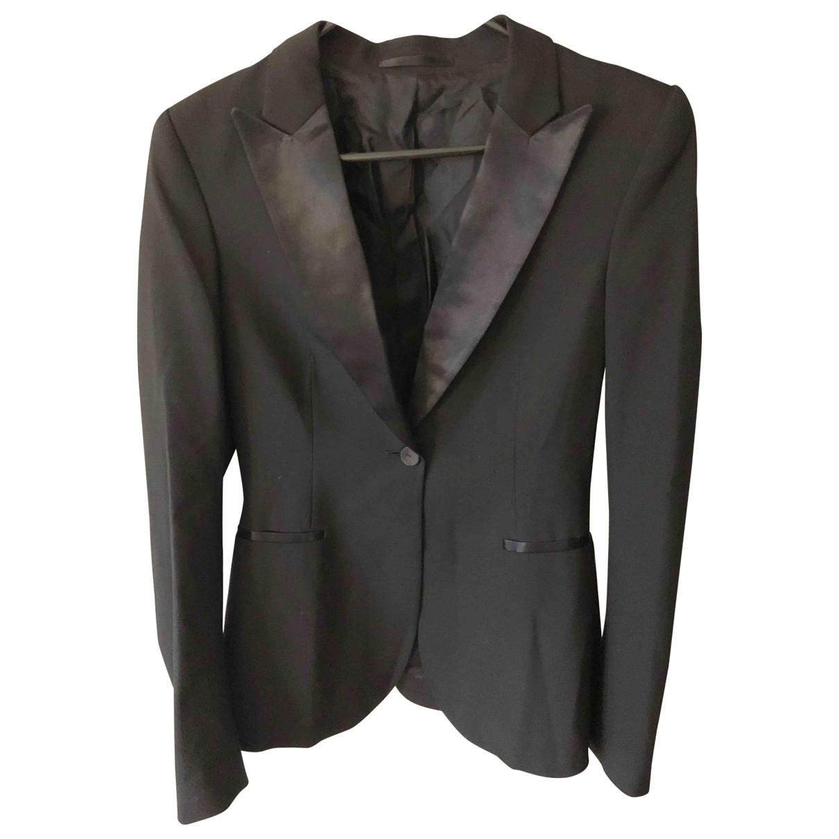 Filippa K - Veste   pour femme en laine - noir