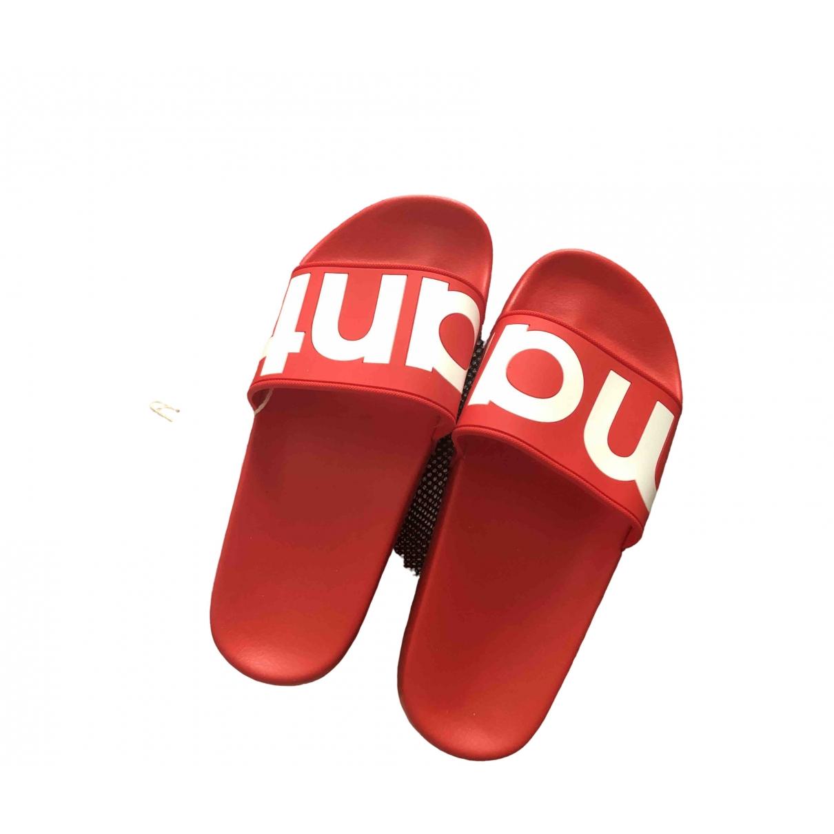 Isabel Marant Howee Sandalen in  Rot Kunststoff