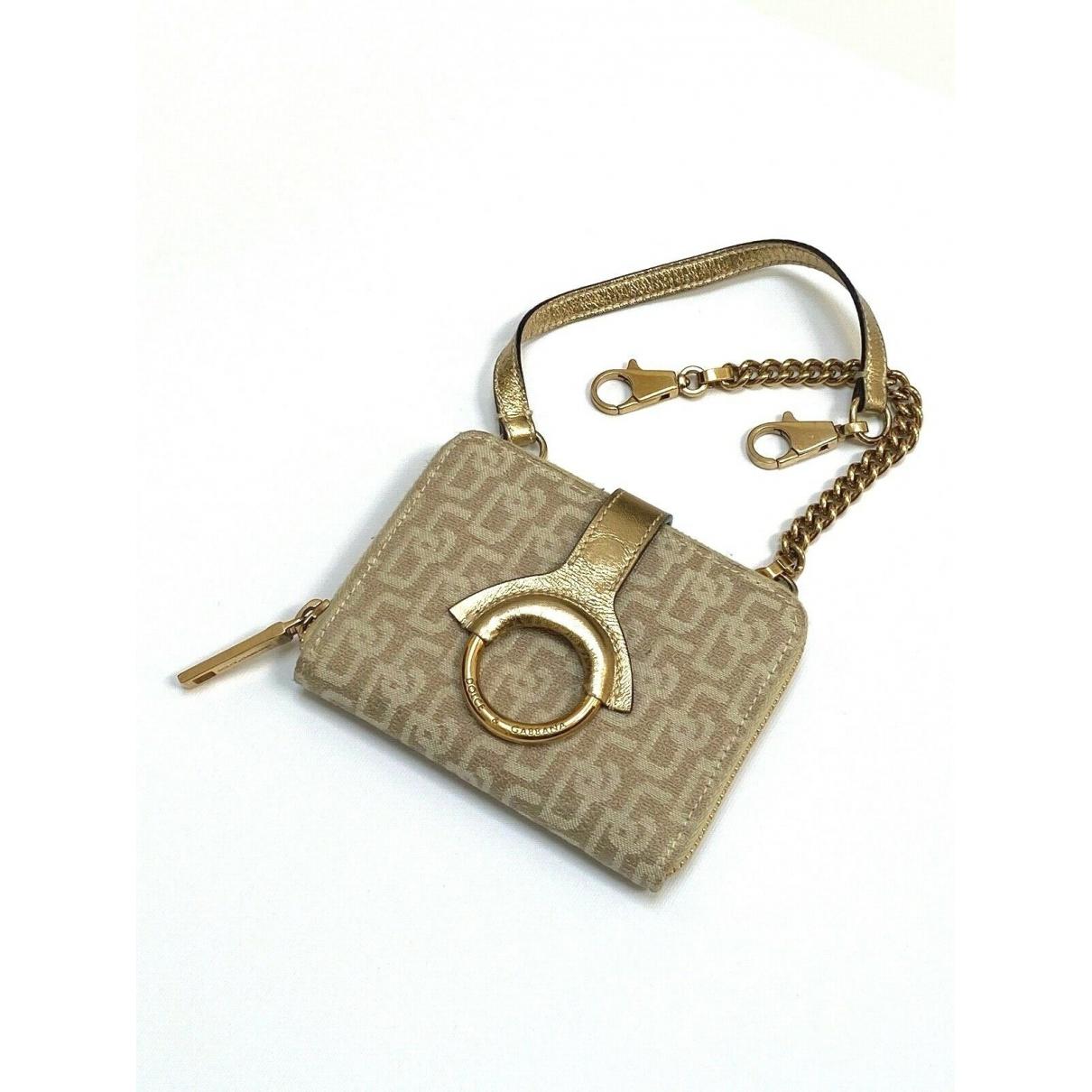 Dolce & Gabbana \N Gold Cloth wallet for Women \N