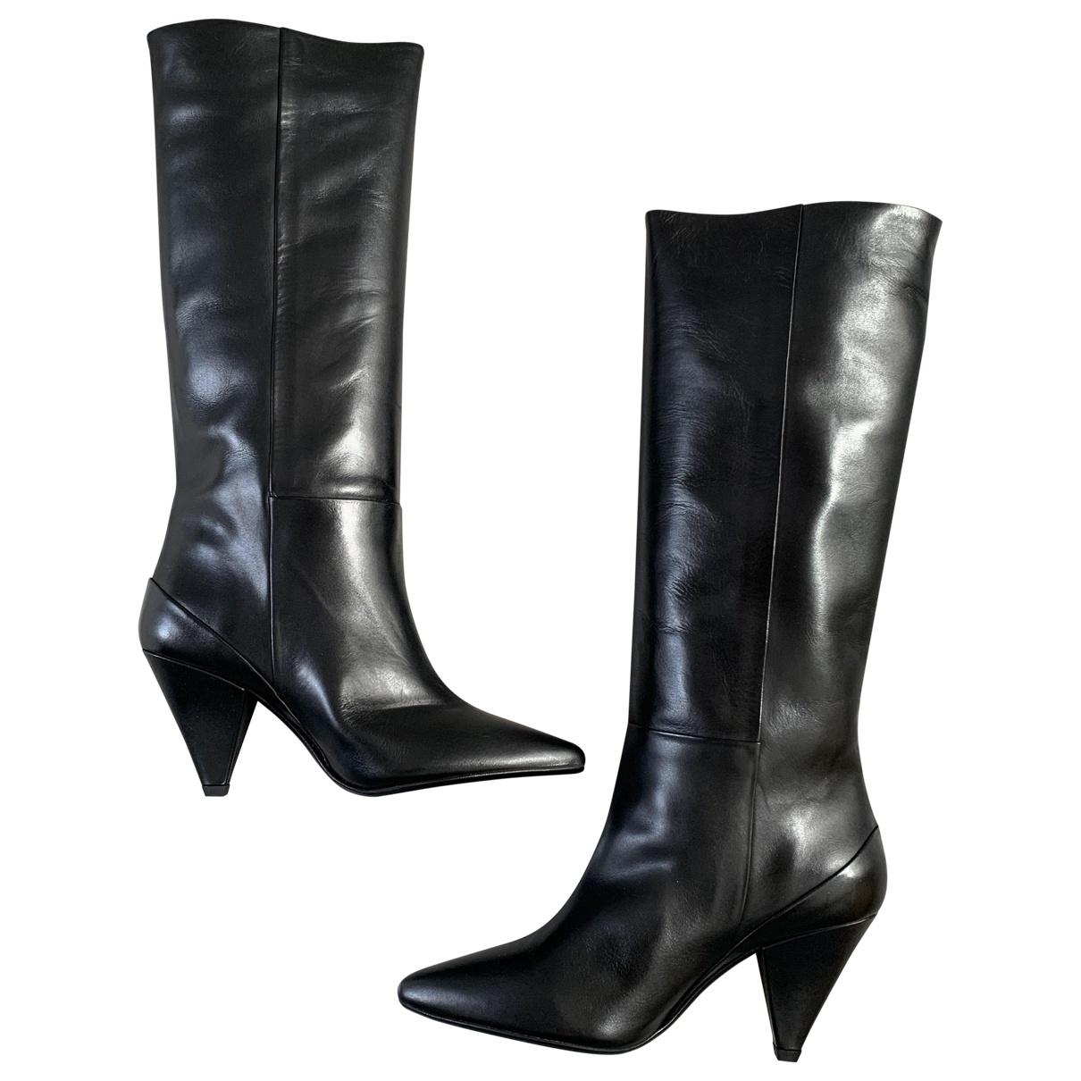 Botas altas de Cuero Samsoe & Samsoe