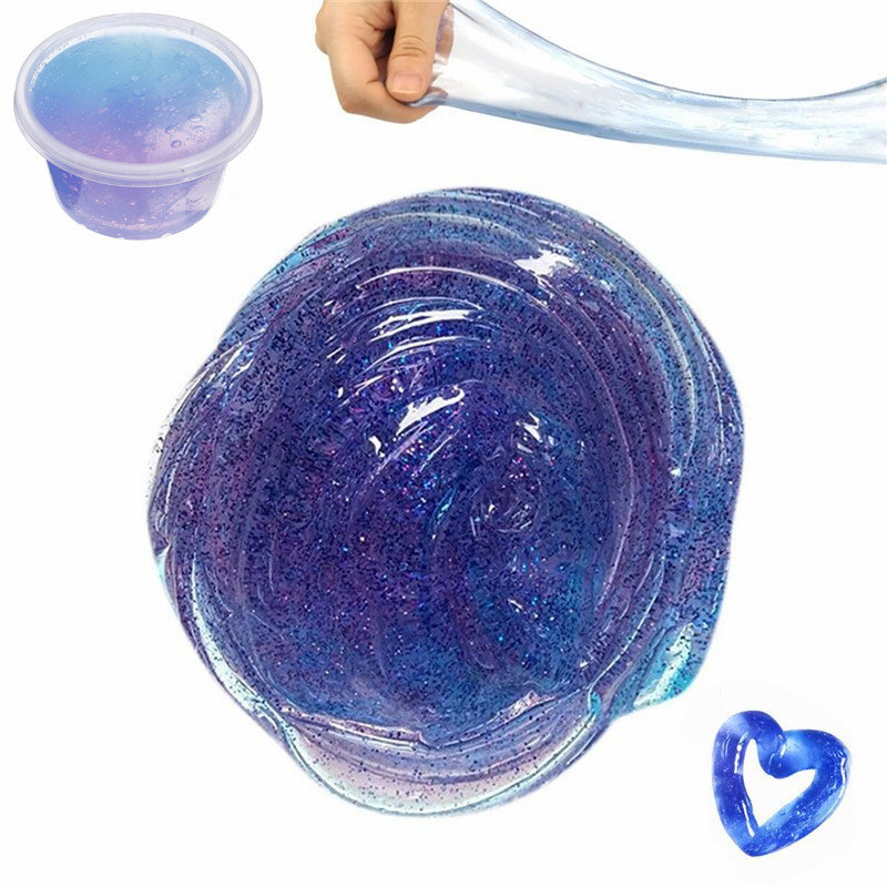 Galaxy Crystal Slime Adult Relaxation Toy Prank Party Props