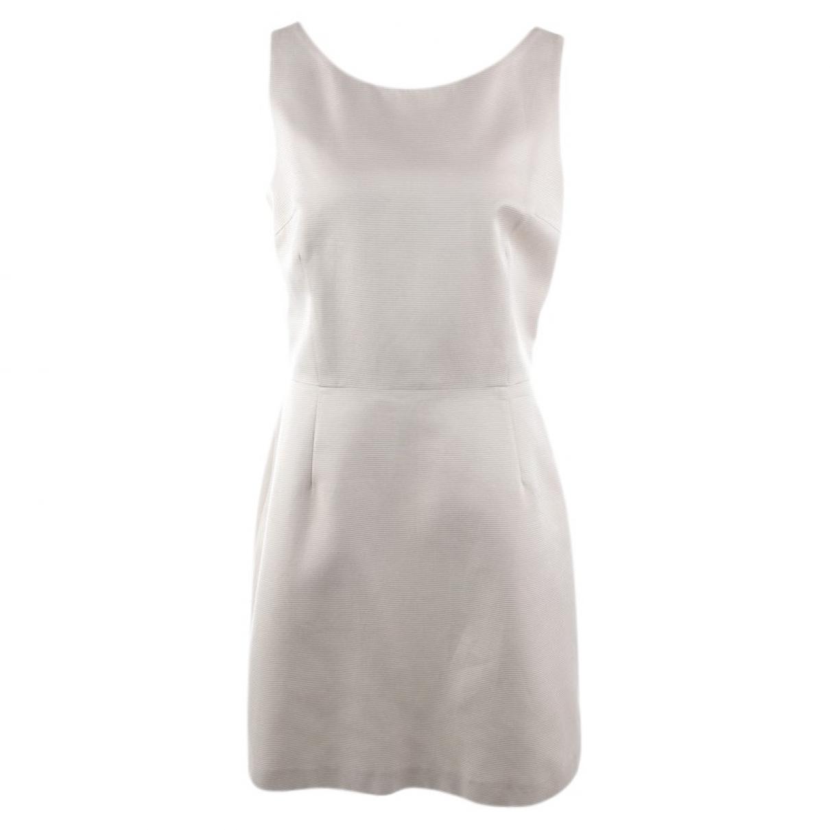 Blumarine \N White Cotton dress for Women 42 FR