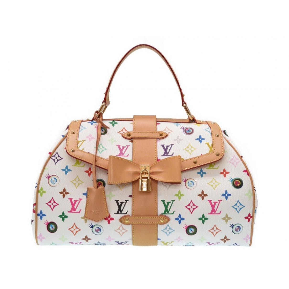 Louis Vuitton Eye love you  White Cloth handbag for Women \N