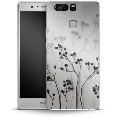 Huawei P9 Silikon Handyhuelle - Abstract Flowers 5 von Mareike Bohmer