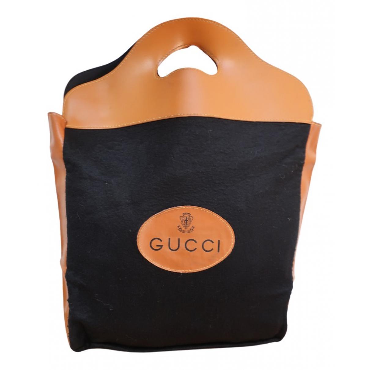 Gucci - Sac a main   pour femme en laine - beige