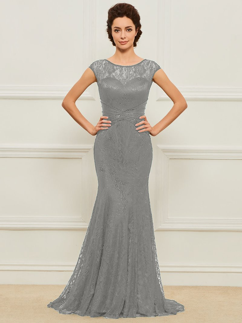 Ericdress Mermaid Sequins Lace Mother of the Bride Dress