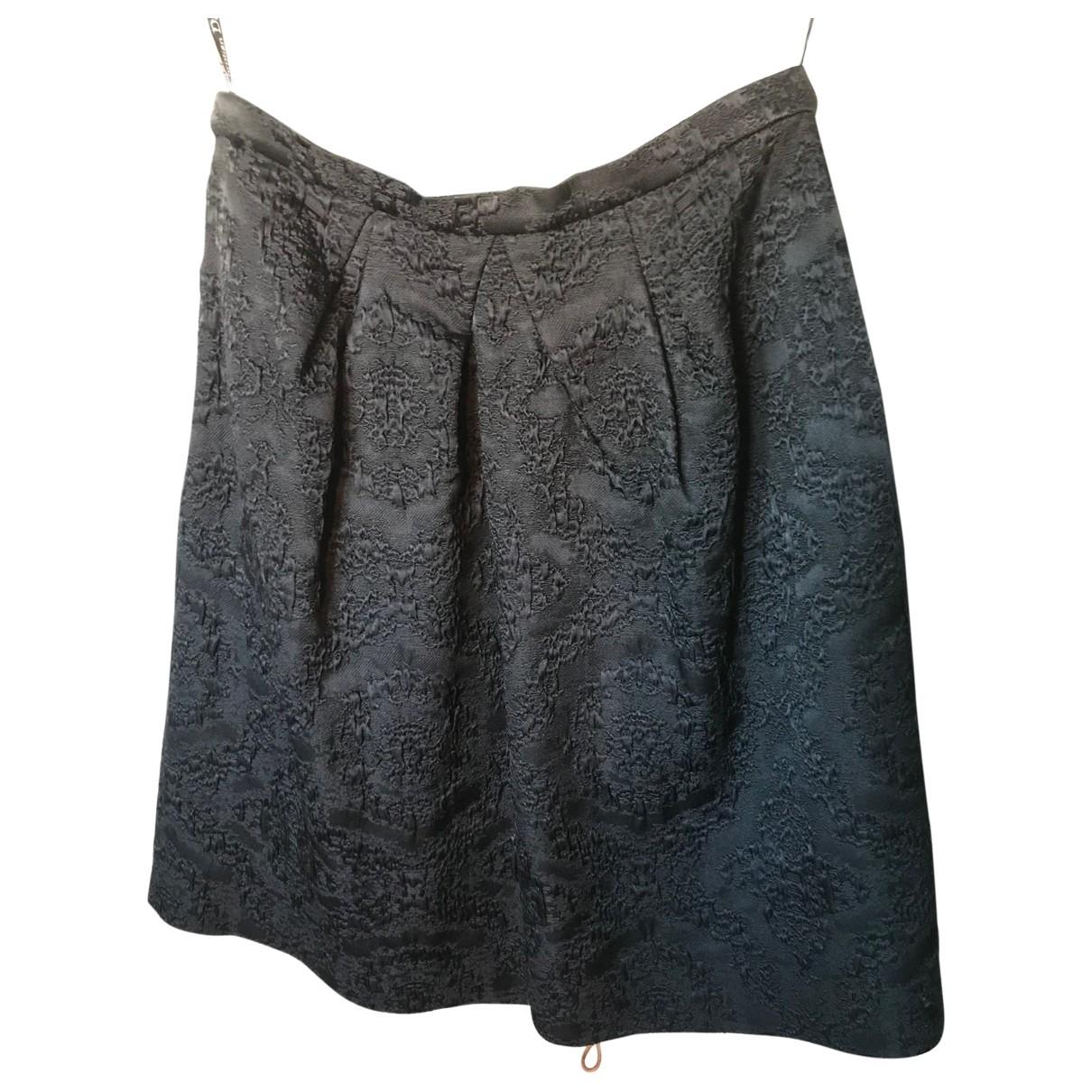 Dior \N Black Wool skirt for Women 42 FR