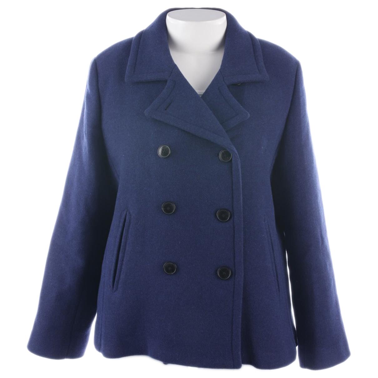 Gant Rugger \N Jacke in  Blau Polyester