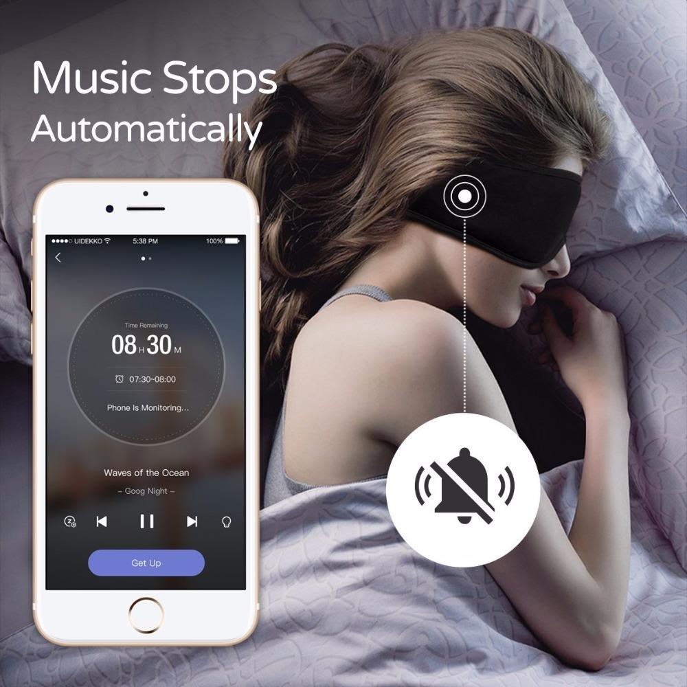 XIAOMI Sleepace Sleep APP Headphones Washable Eye Mask