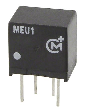Murata Power Solutions MEU1 1W Isolated DC-DC Converter Through Hole, Voltage in 4.5 → 5.5 V dc, Voltage out 5V