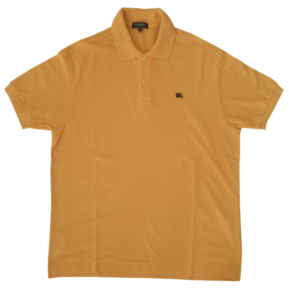 Burberry - Polos   pour homme en coton - orange