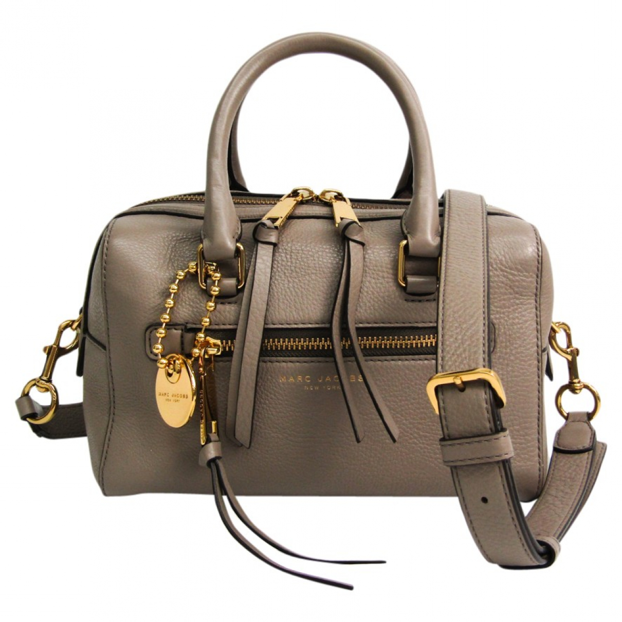 Marc Jacobs \N Grey Leather handbag for Women \N