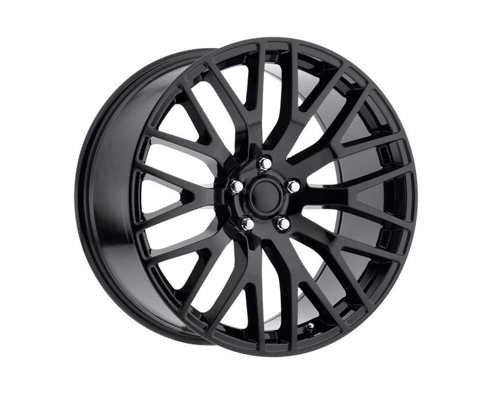 Replica Alloys PER 210-5114-48 GB Mustang Performance Gloss Black Wheel 20x10 5x114.3 48mm