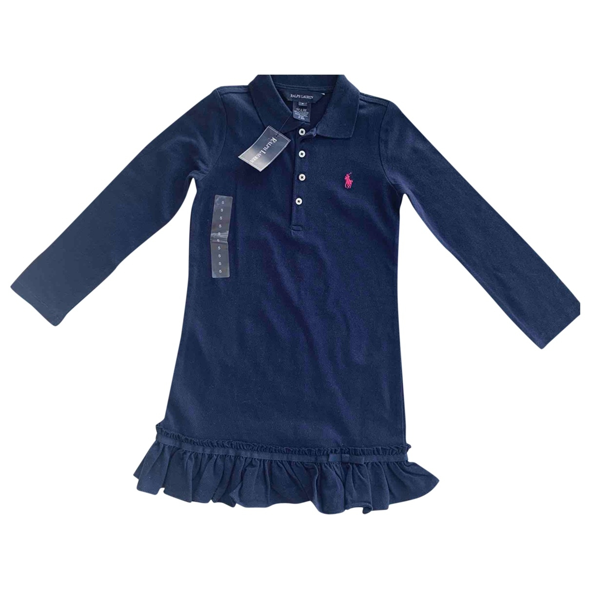 Ralph Lauren \N Navy Cotton dress for Kids 5 years - up to 108cm FR