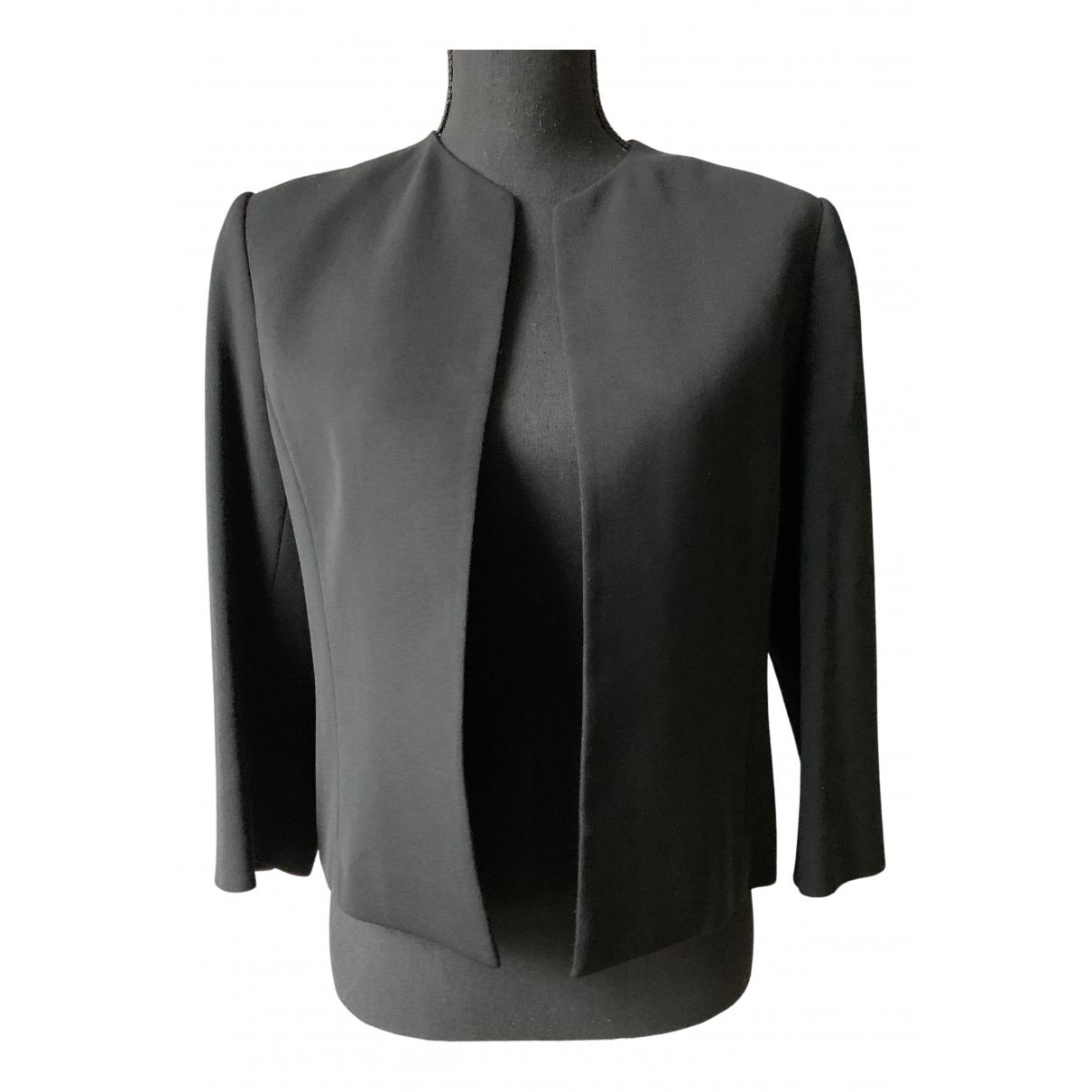 Jaeger - Veste   pour femme en laine - noir