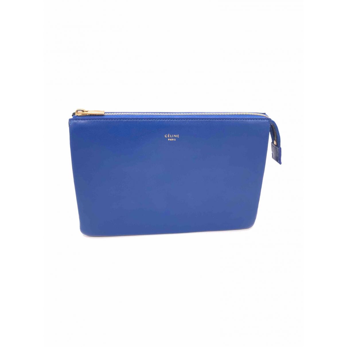Celine \N Kleinlederwaren in  Blau Leder