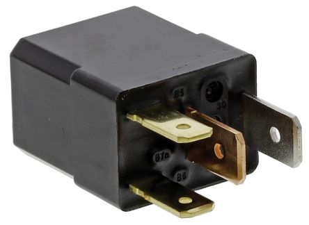 Panasonic , 12V dc Coil Automotive Relay SPNO, 35A Switching Current Plug In