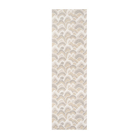 Madcap Cottage By Momeni Cloud Club Hooked Rectangular Indoor Rugs, One Size , Beige