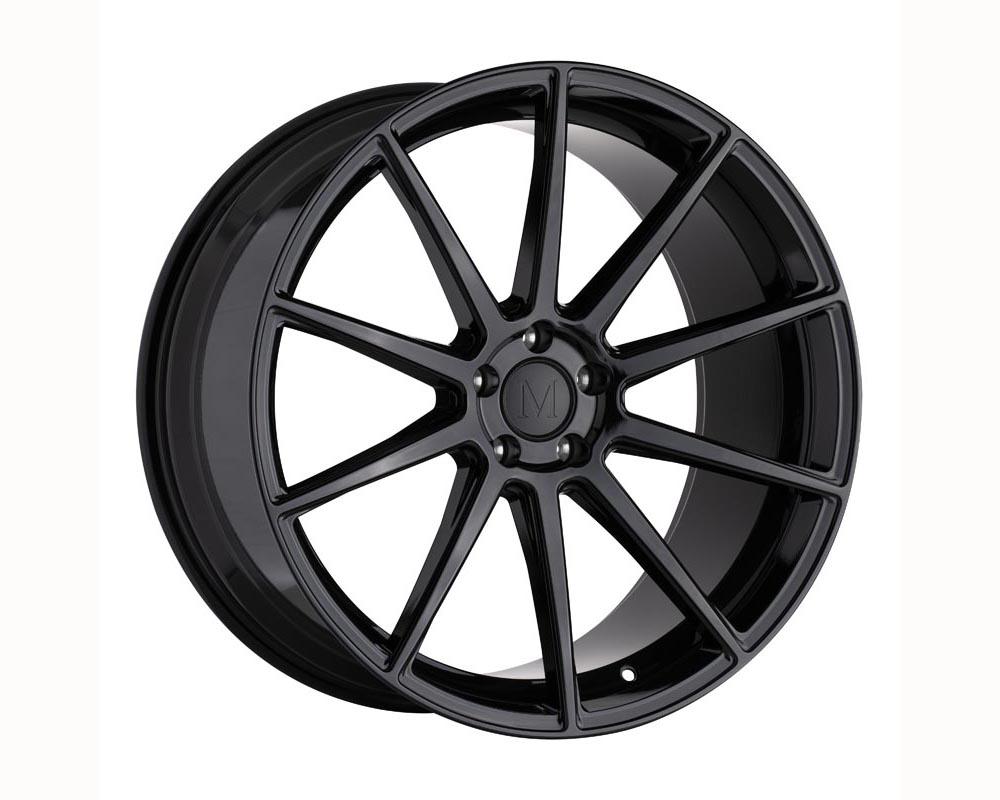 Mandrus Klass Wheel 20x10 5x112 25 Gloss Black