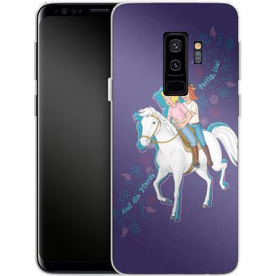 Samsung Galaxy S9 Plus Silikon Handyhuelle - Bibi und Tina Pferd von Bibi & Tina