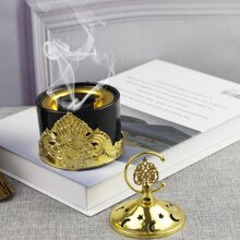 1pc Moon & Star Hollow Incense Burner