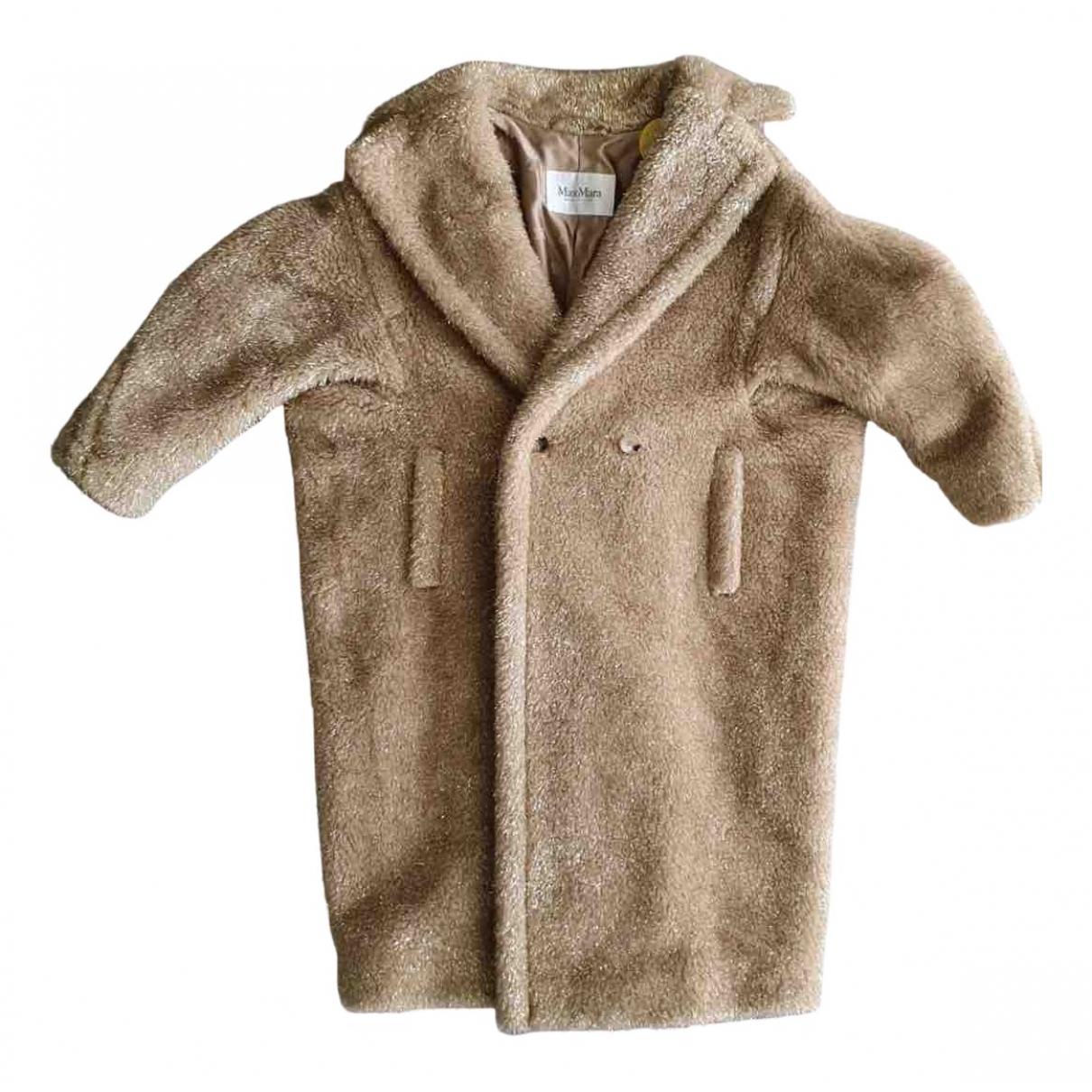 Max Mara - Manteau Teddy Bear Icon pour femme en laine - beige