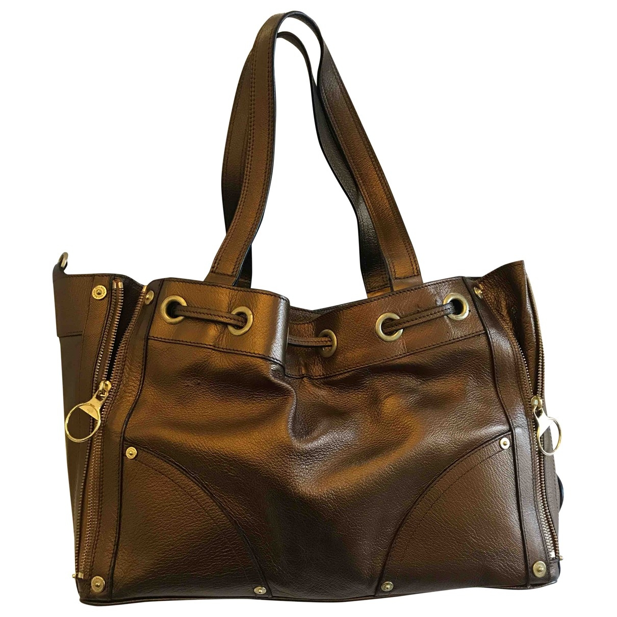 Mulberry \N Metallic Leather handbag for Women \N