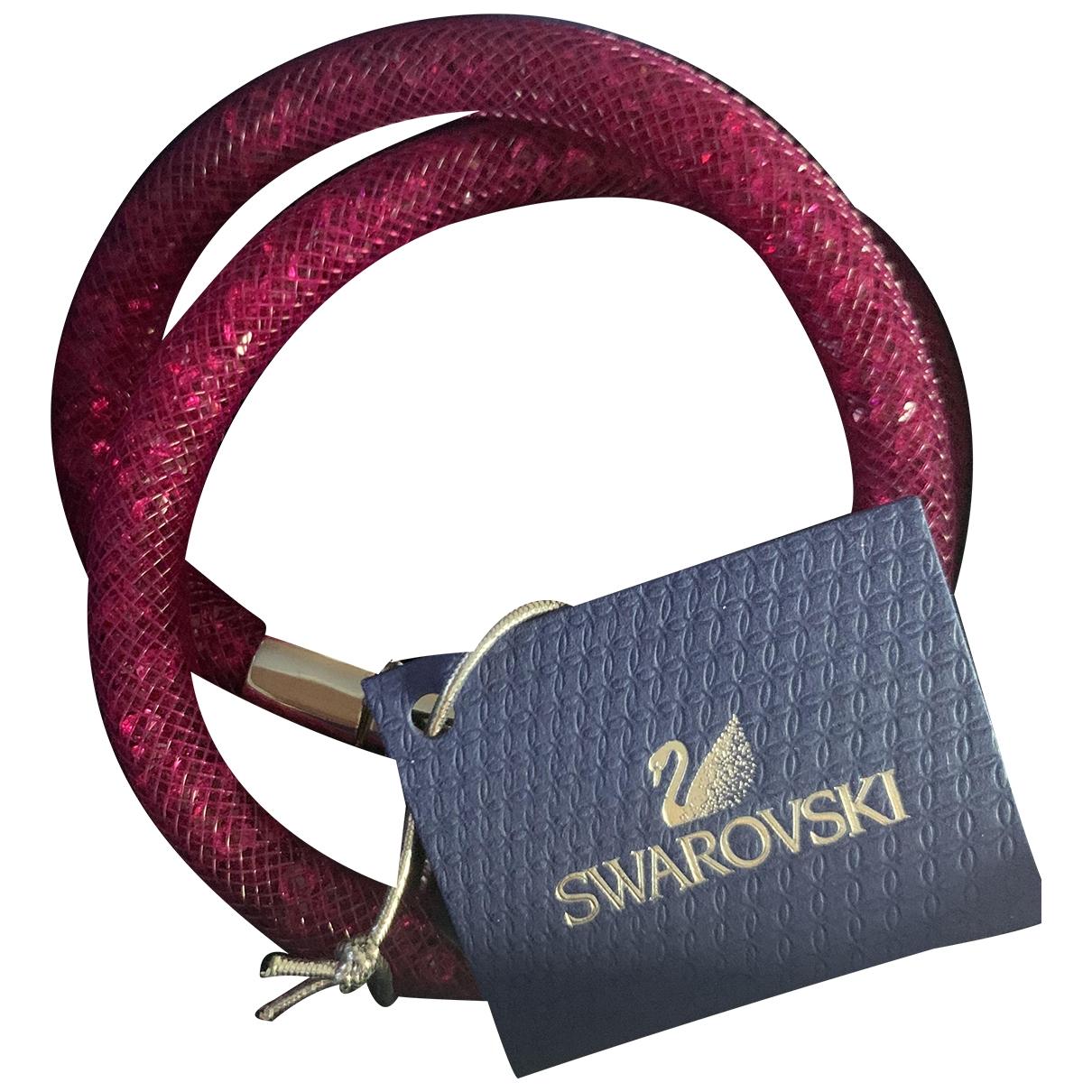 Swarovski Stardust Armband in  Rosa Stahl
