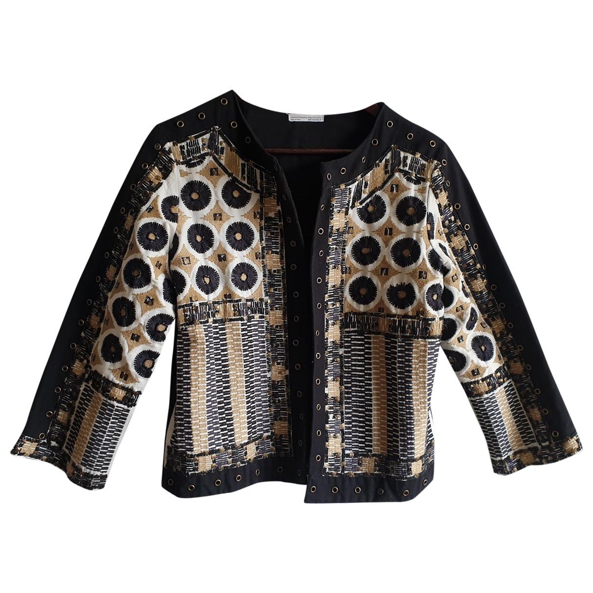 Zara \N Black Cotton jacket for Women M International