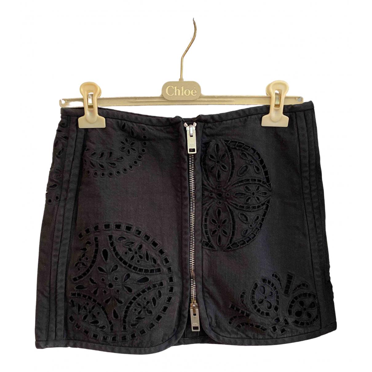 Isabel Marant - Jupe   pour femme en coton - noir