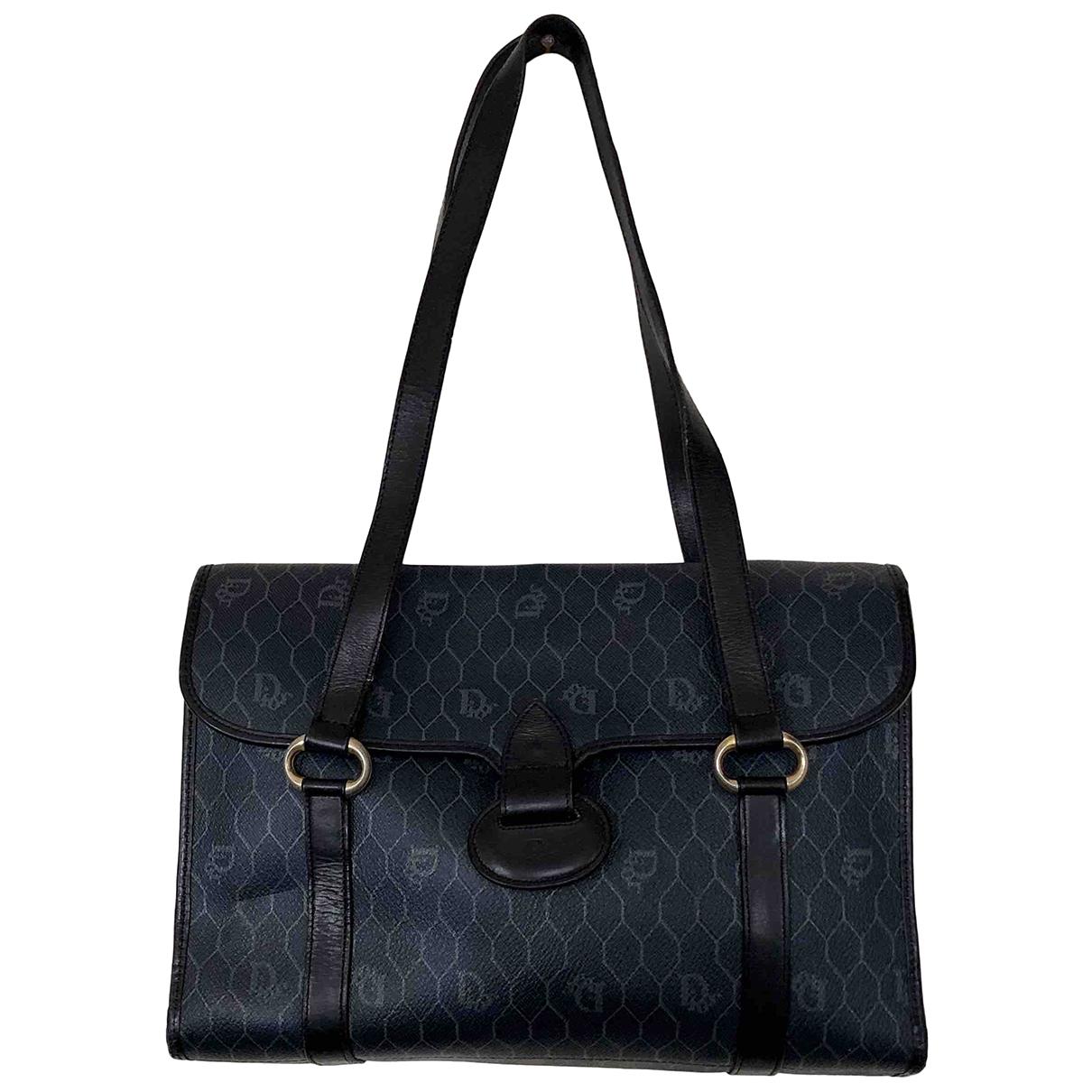 Dior \N Handtasche in  Marine Synthetik