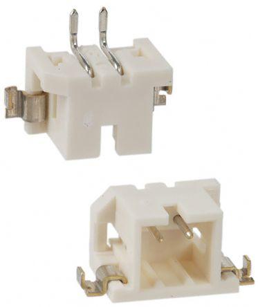 Hirose , DF3, 2 Way, 1 Row, Right Angle PCB Header (10)