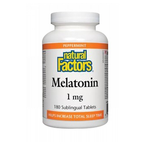 Stress-Relax Melatonin 180 Tabs by Natural Factors