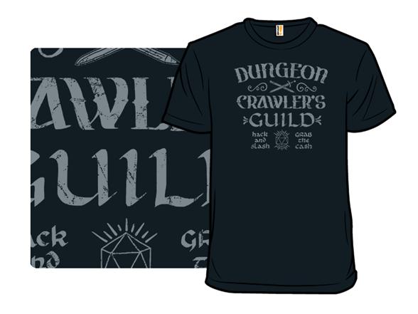 Dungeon Crawler's Guild T Shirt