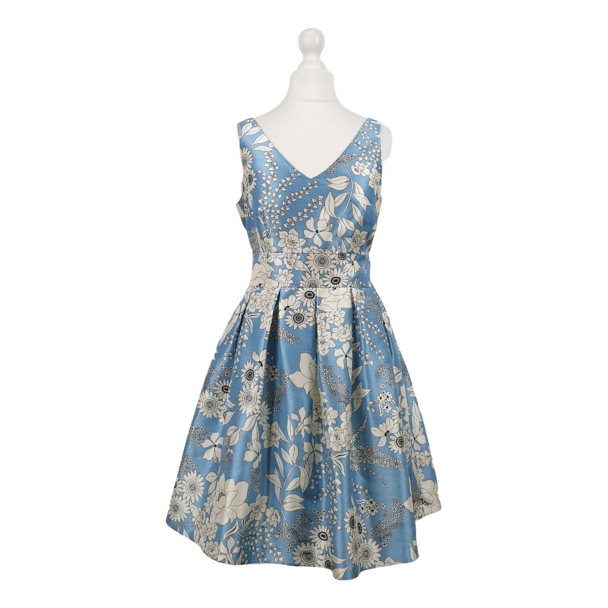 Seventy \N Kleid in  Tuerkis Polyester