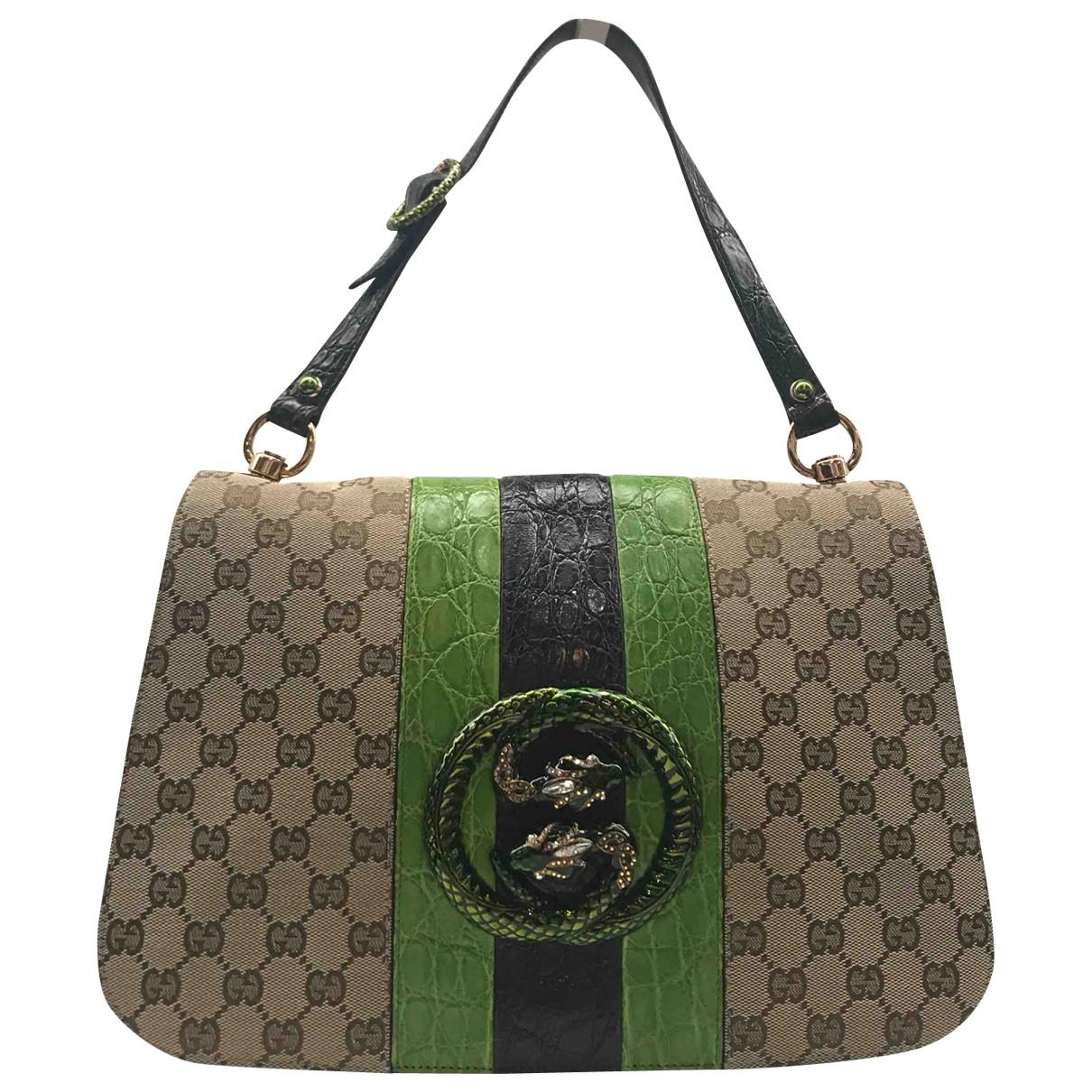 Gucci \N Handtasche in  Bunt Leinen