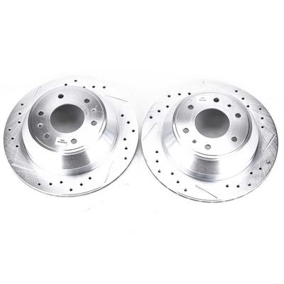 Power Stop Evolution Drilled and Slotted Brake Rotors - AR8647XPR