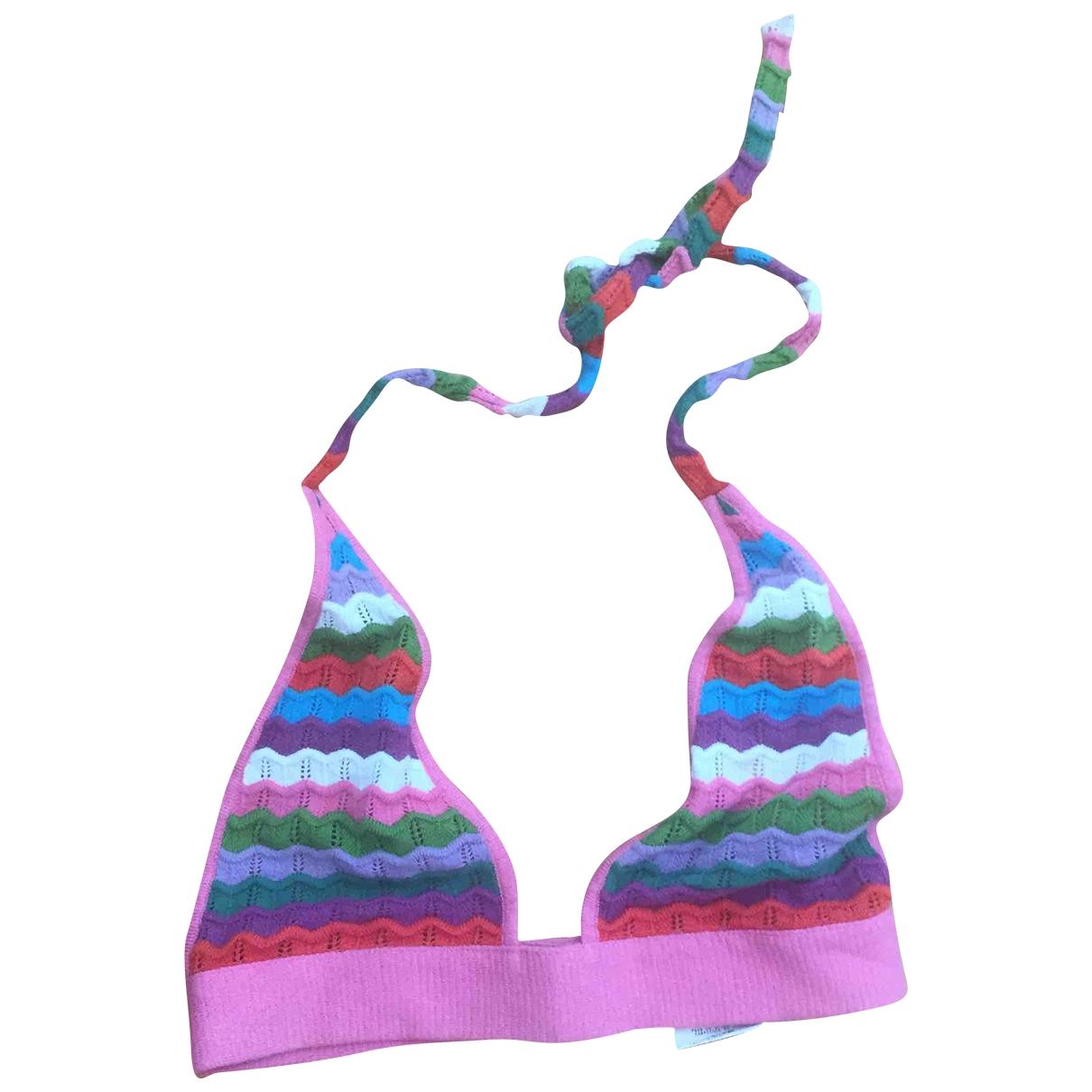 D&g - Pull   pour femme en coton - multicolore