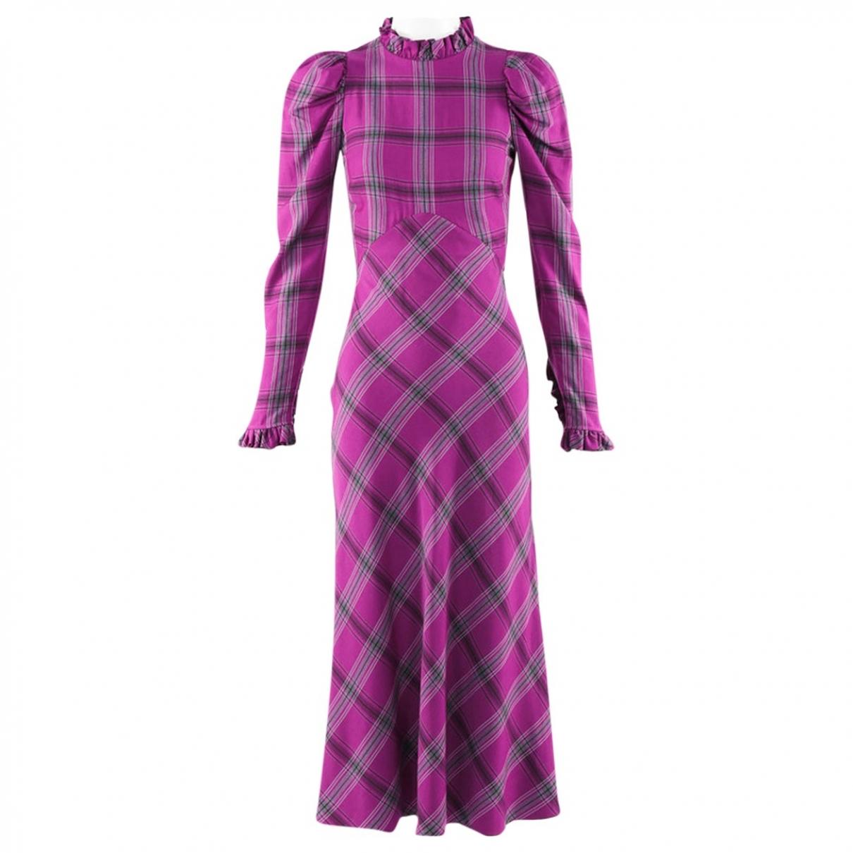 Temperley London \N Kleid in  Lila Viskose