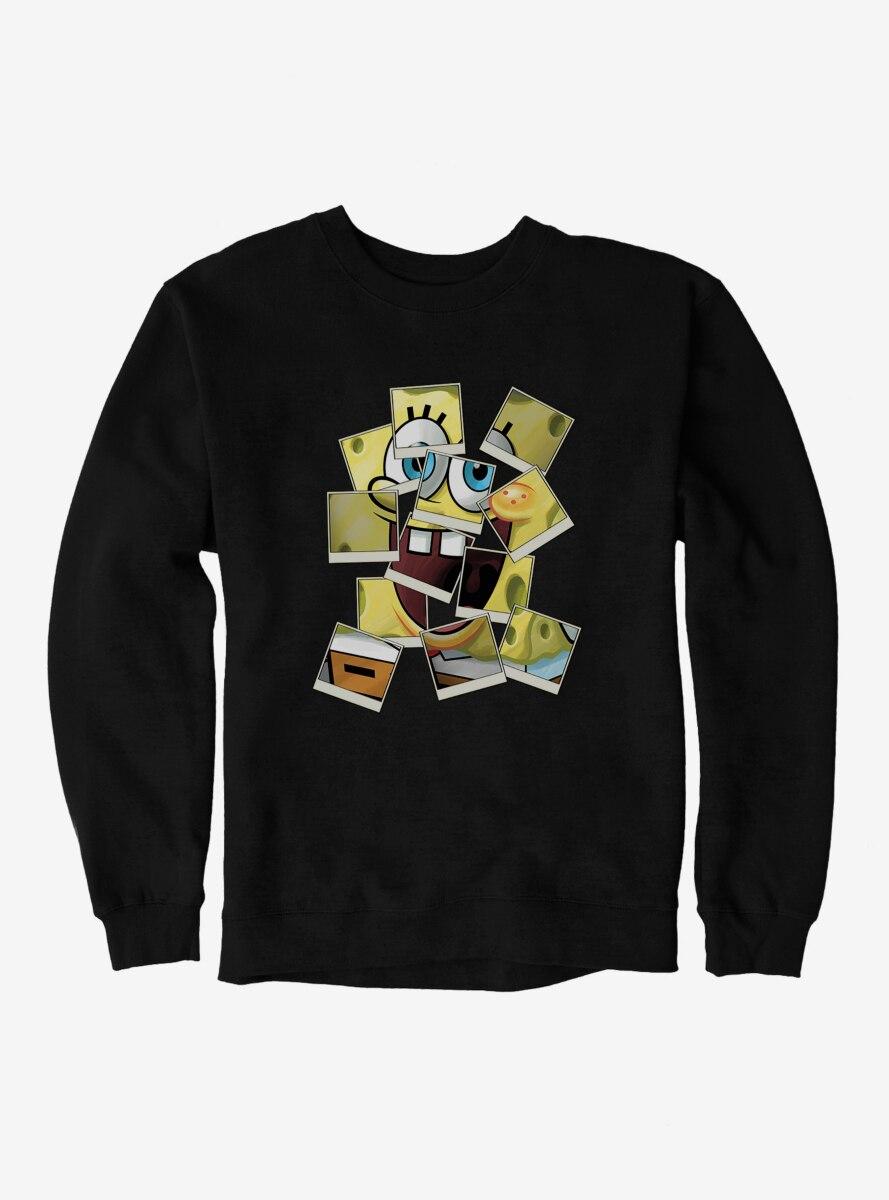 SpongeBob SquarePants Polaroid Photo Comp Sweatshirt
