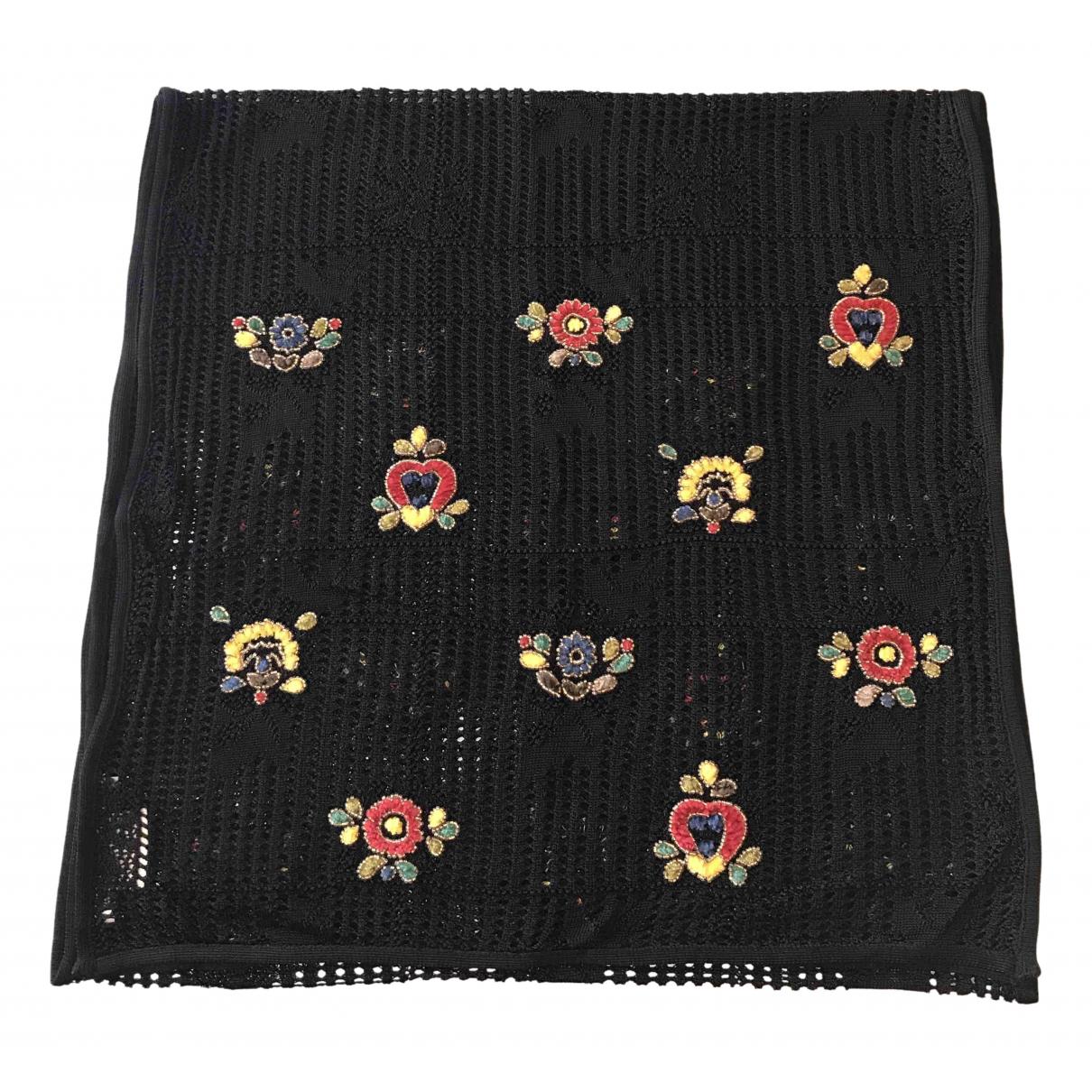 Dior \N Black scarf for Women \N