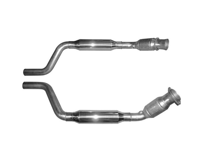 Solo Performance C41155 - C41156 High Flow Catalytic Converters Dodge Challenger | Charger R/T 5.7L HEMI 2005-2014
