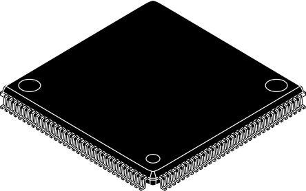 Microchip LAN91C113-NU, Ethernet Controller, 10 Mbps, 100 Mbps MII, 3.3 V, 128-Pin TQFP