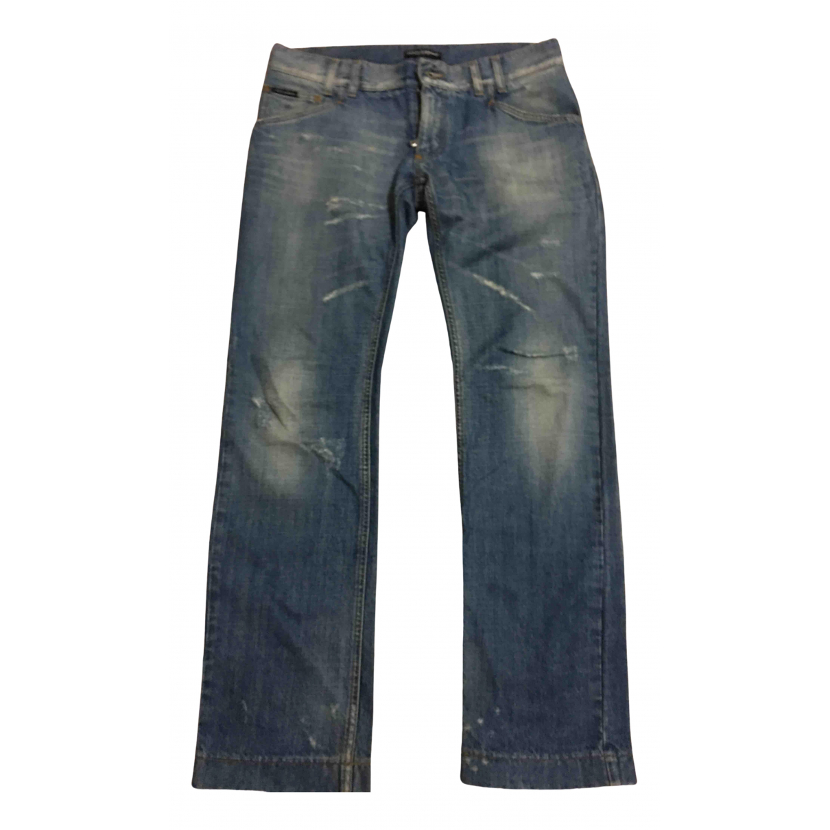 Dolce & Gabbana N Blue Cotton Jeans for Men 33 US