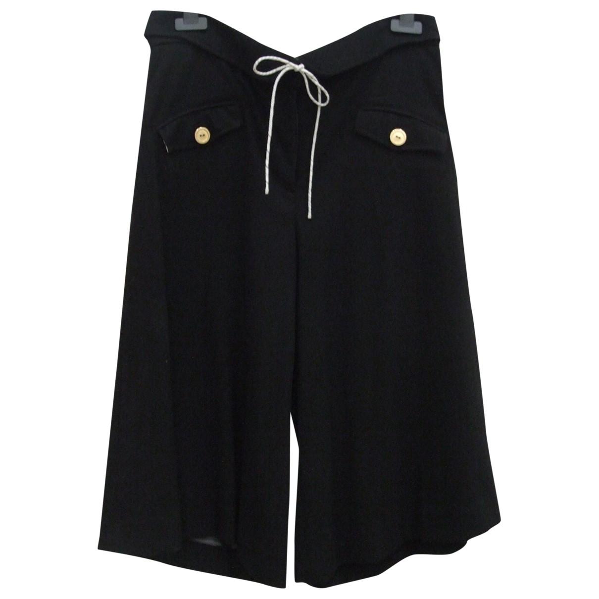 By Malene Birger - Pantalon   pour femme en laine - noir